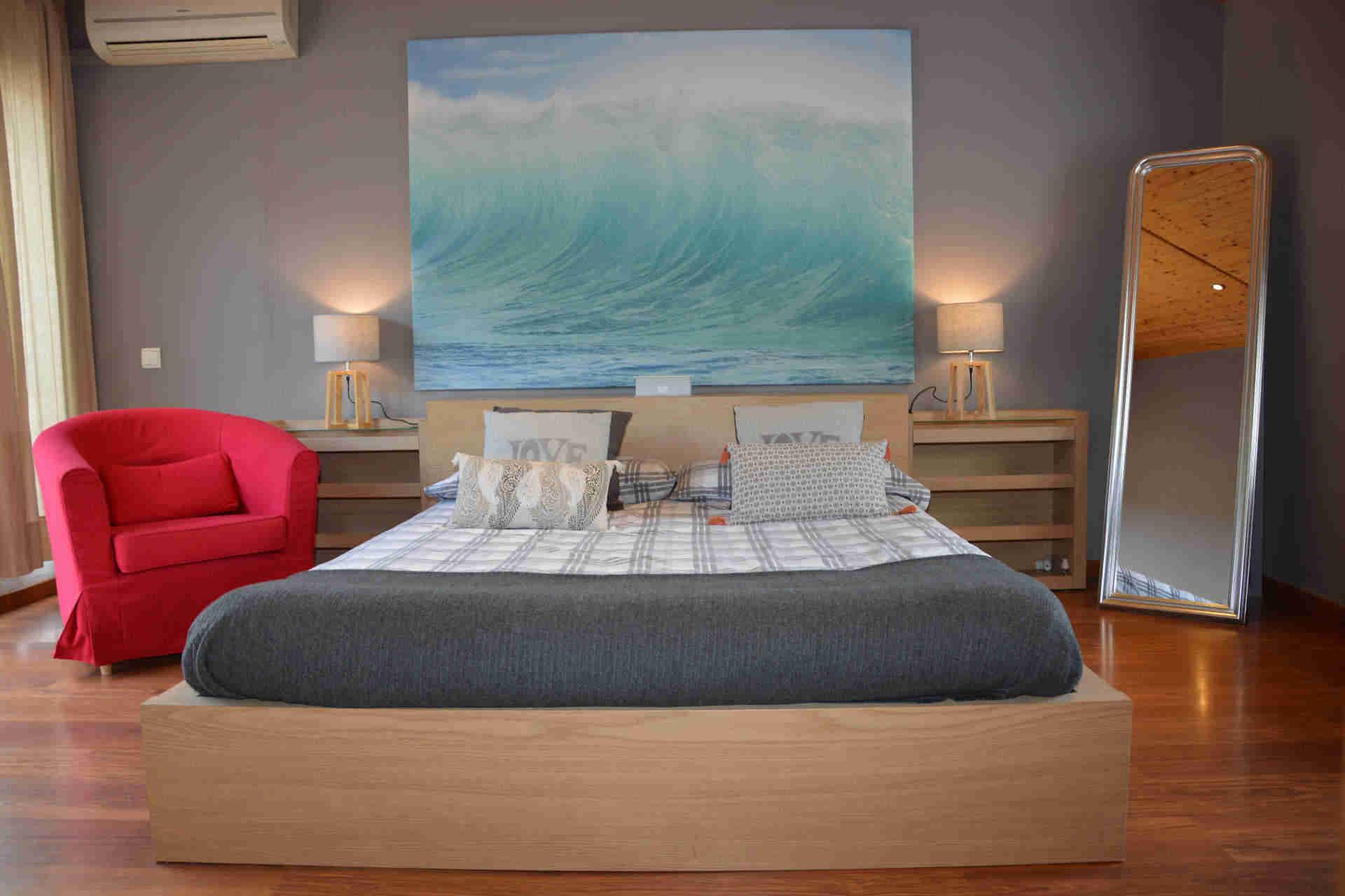 Suite imperial del chalet para vacaciones en Sitges