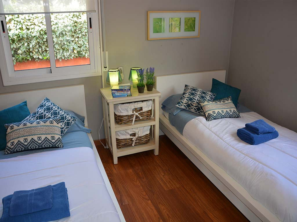 holiday villas in sitges and their Secon bedroom
