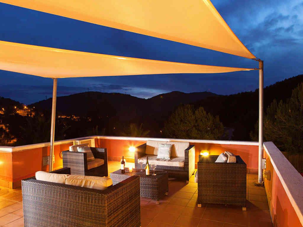 Location de villa à sitges: chill out la nuit