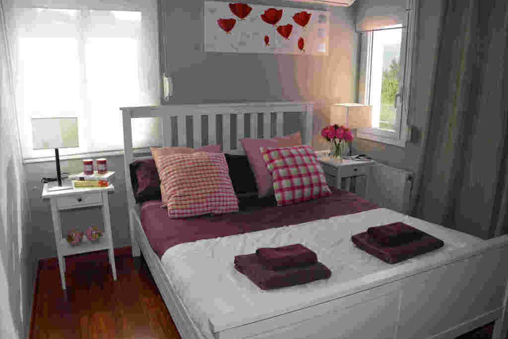 Habitación doble en chalet para vacaciones