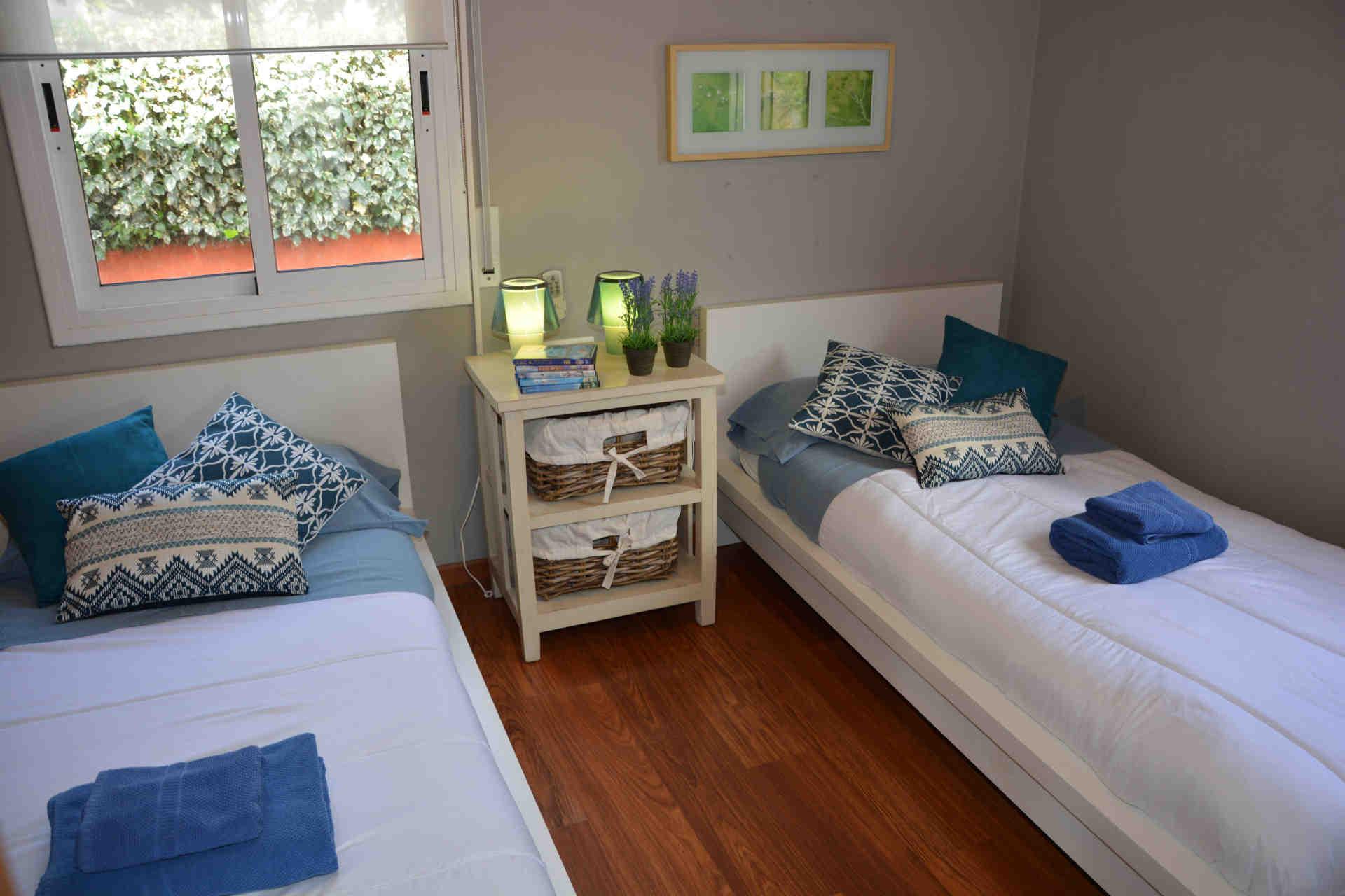 Segunda habitación doble en el chalet para vacaciones