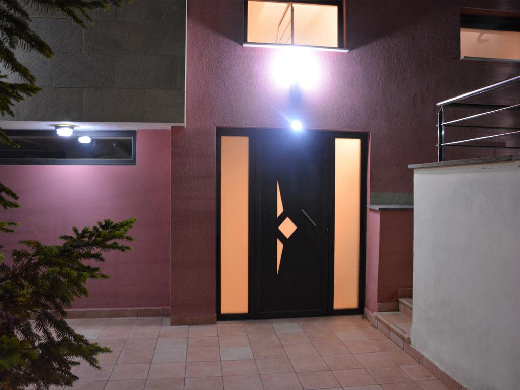 villa in Sitges with door.