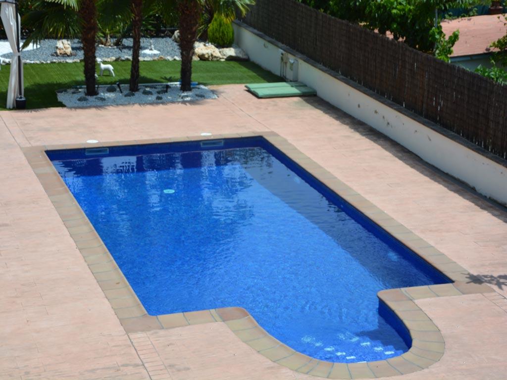 Villa Sitges con bonita piscina.