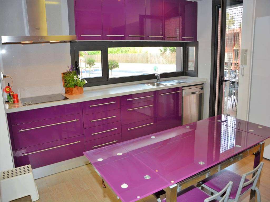 villa in Sitges with kitchen.