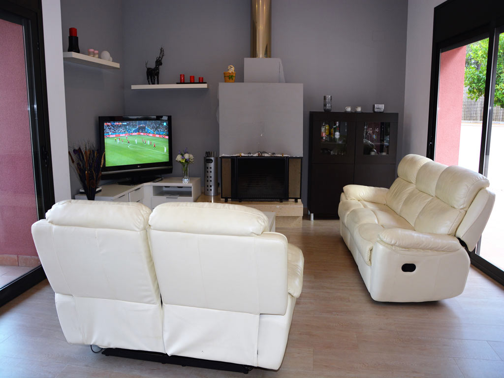 villa in Sitges with TV.