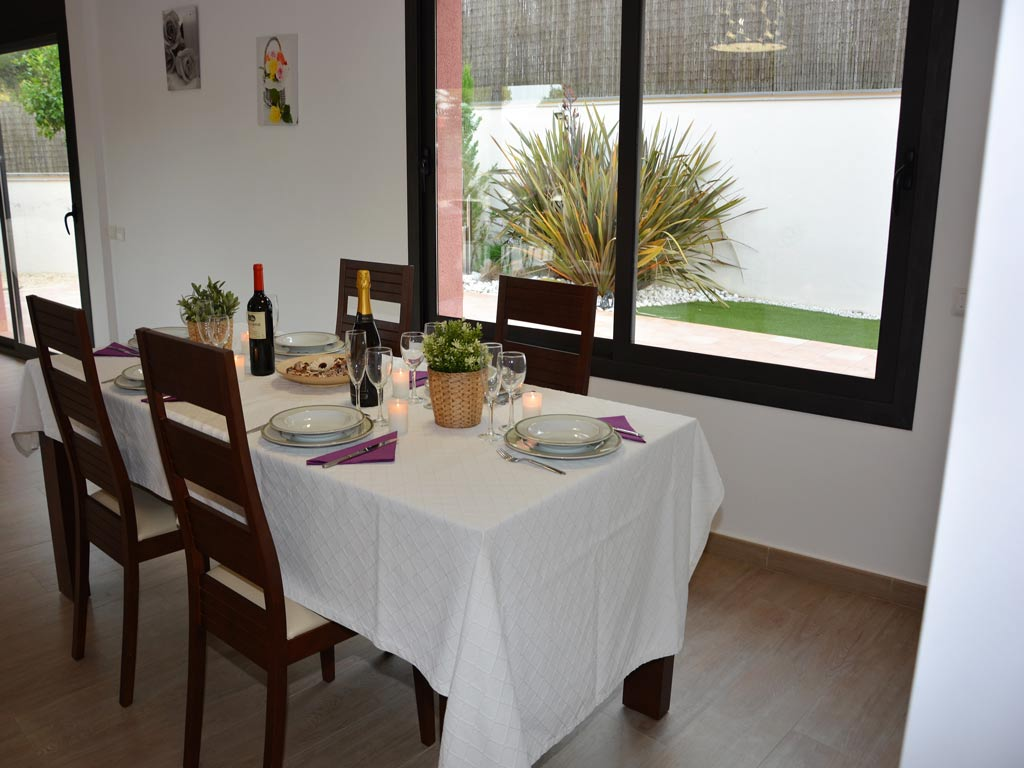 villa in Sitges with dinning room.