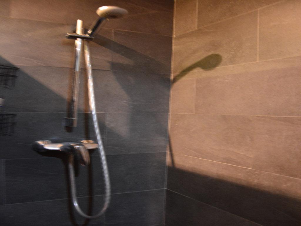 Villa Sitges con ducha.