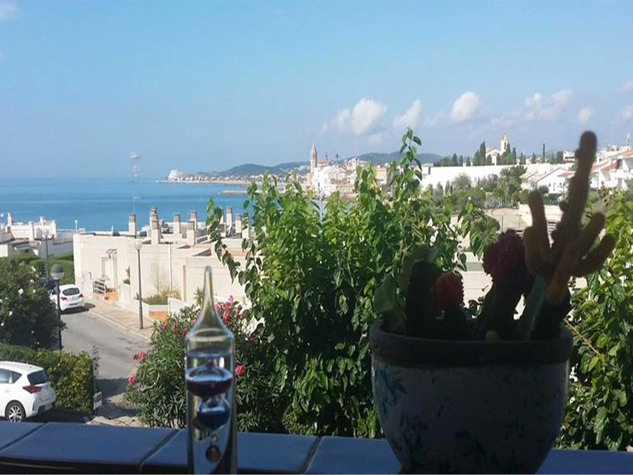 Appartement à louer à Sitges: vue sur la mer
