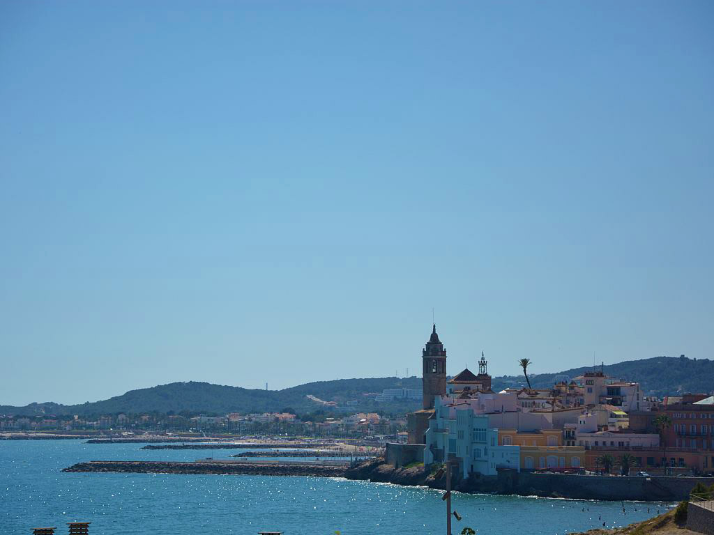 holiday apartments in sitges with views from sitges