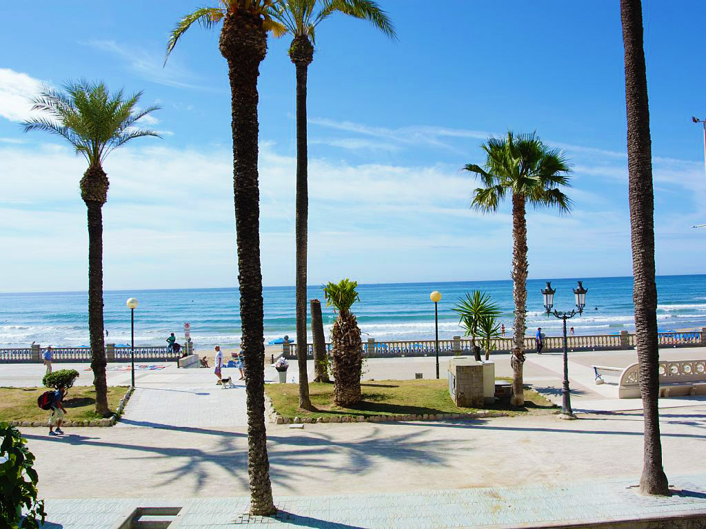 apartment for holiday and the sitges promenade