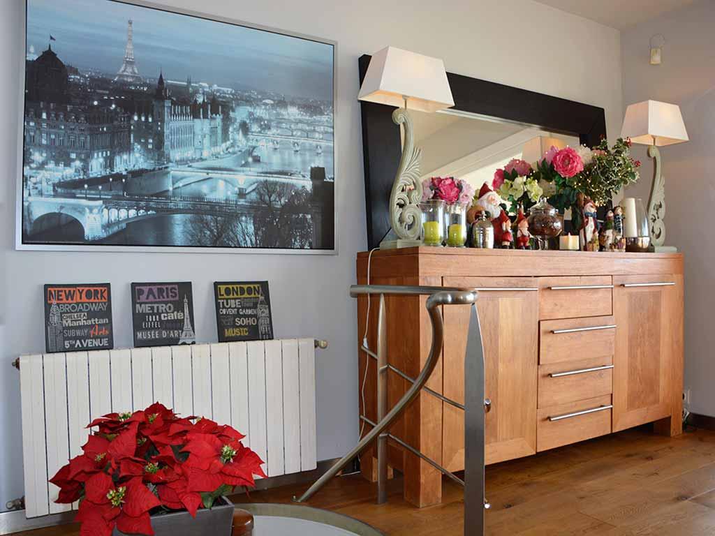 Mediterranean villa in Sitges: Christmas decoration