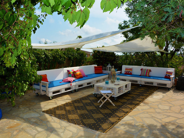 vacation home in sitges with chill-out