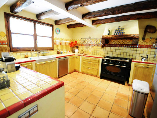 vacation home in sitges and its kitchen