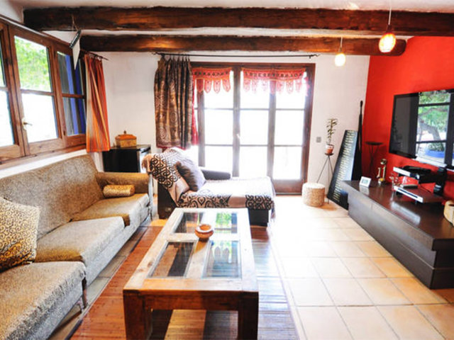 vacation home in sitges and its salon