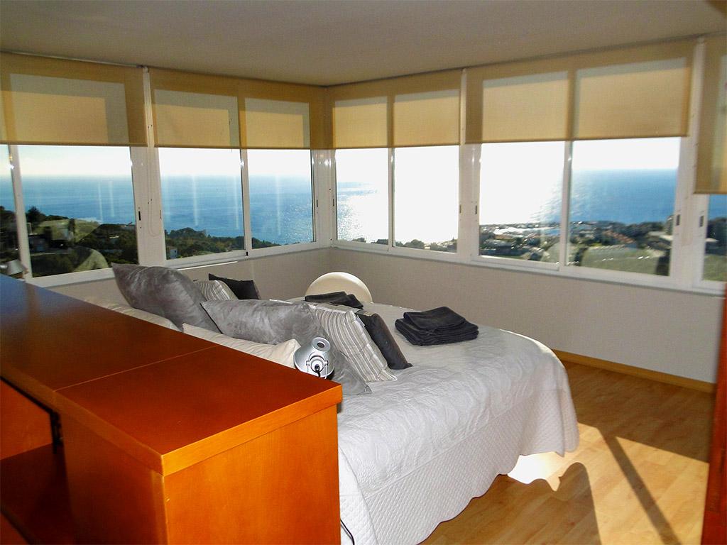 Location de Villa à Barcelone au bord de la mer: grande chambre pour 2 personnes