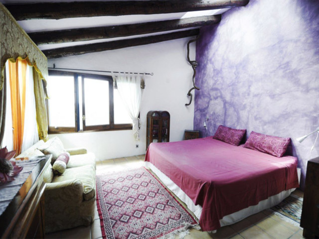 vacation home in sitges and its first bedroom