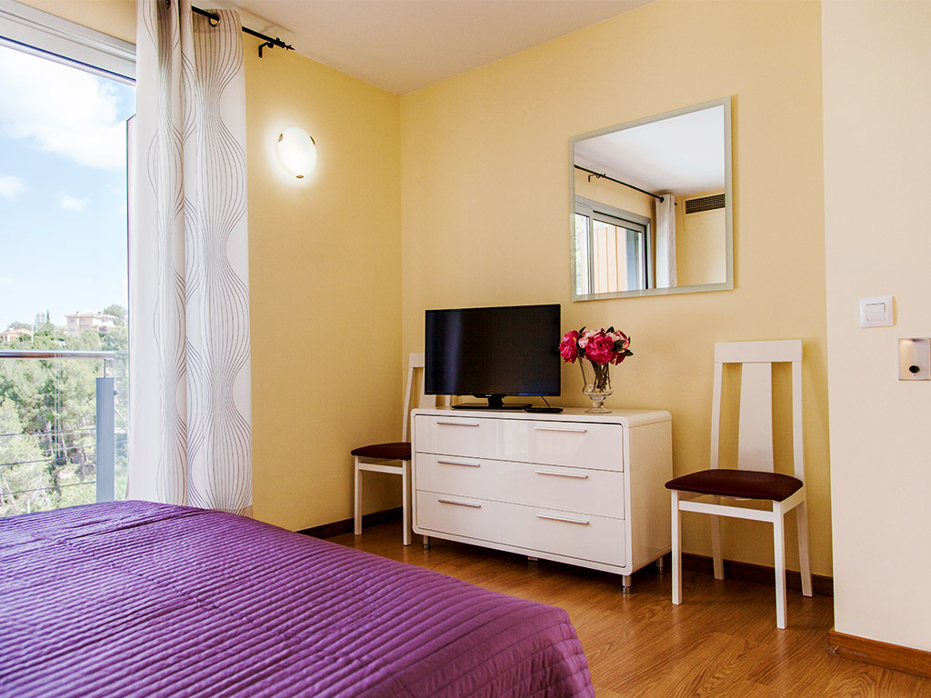 tv in our Sitges villas for rent on holidays