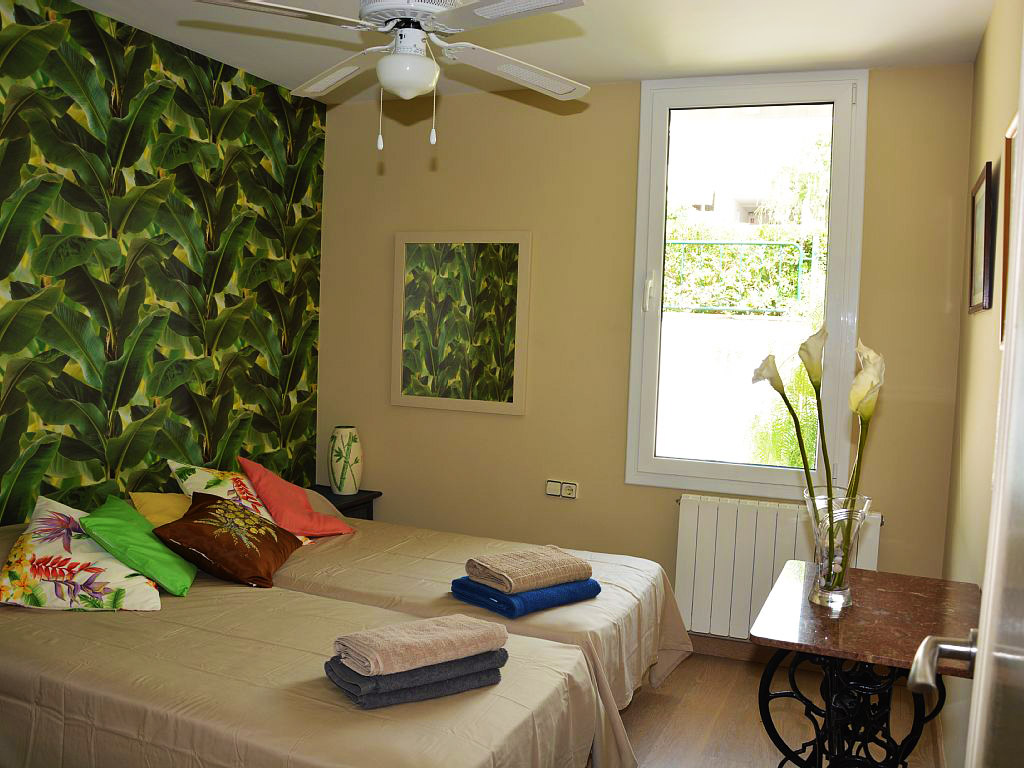 Appartement à louer à Sitges: chambre pour deux personnes