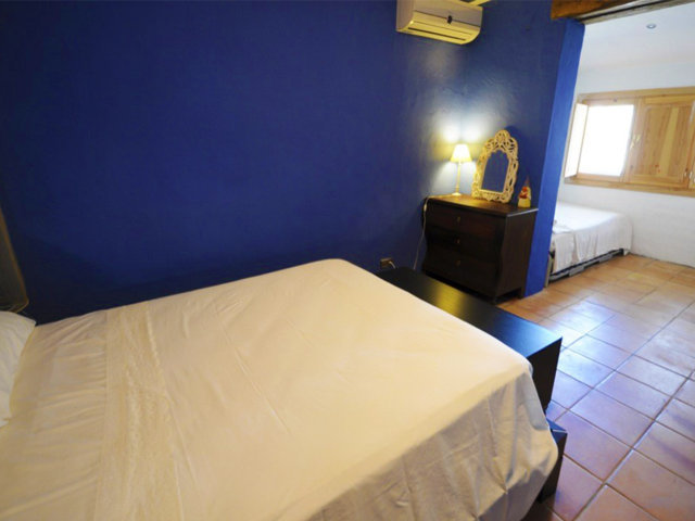 vacation home in sitges and its third bedroom