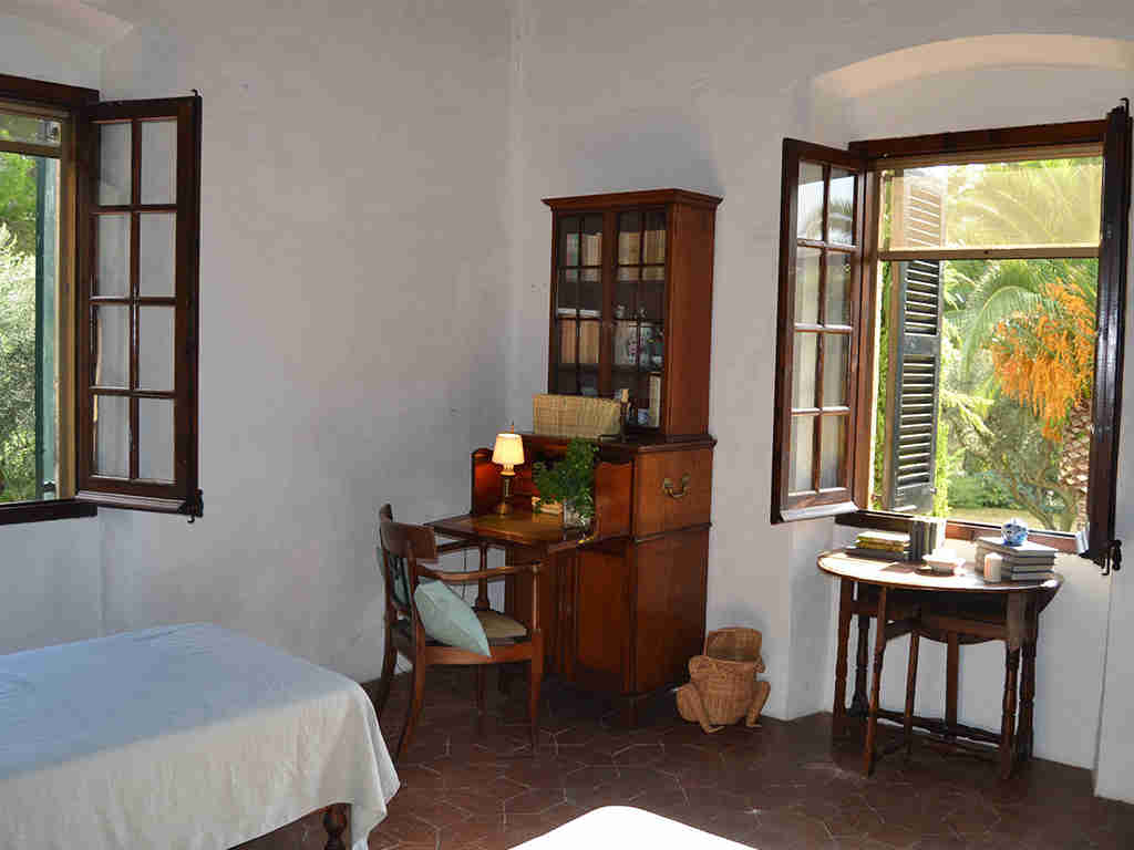 spanish farmhouse and its cosy corner vwith views
