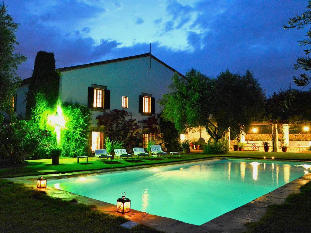 Location de Maison de vacances à Barcelone: grande piscine