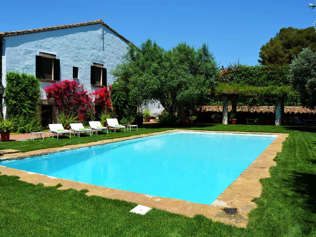 Location de maison de vacances à Barcelone: belle piscine