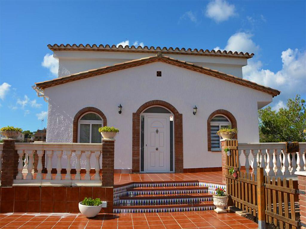 Location de vacances à barcelone: façade de la maison