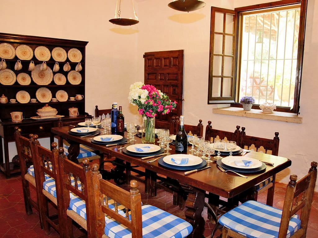 Location de Maison de vacances à Barcelone: salle à manger