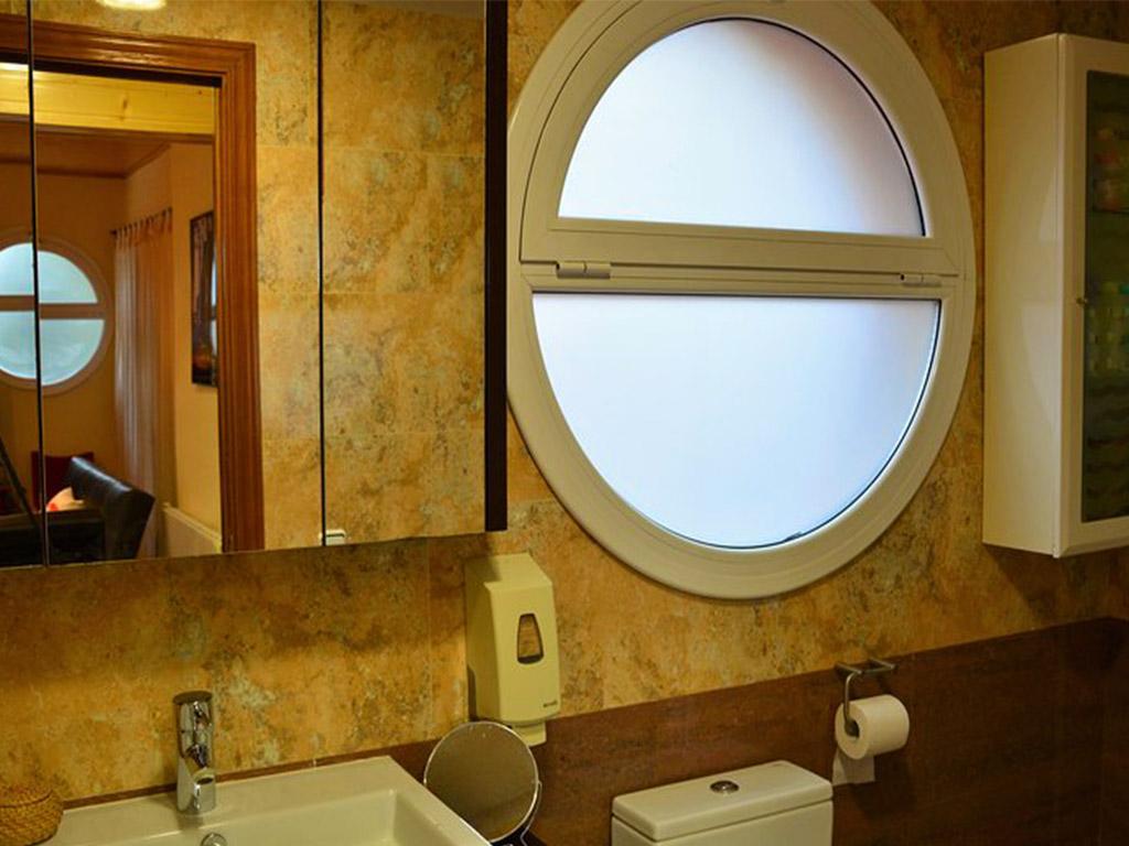 baño del chalet para alquilar en verano en sitges