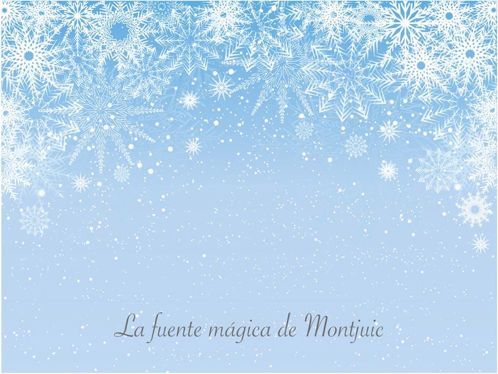 El tiempo en Sitges en Diciembre y la fuente mágica