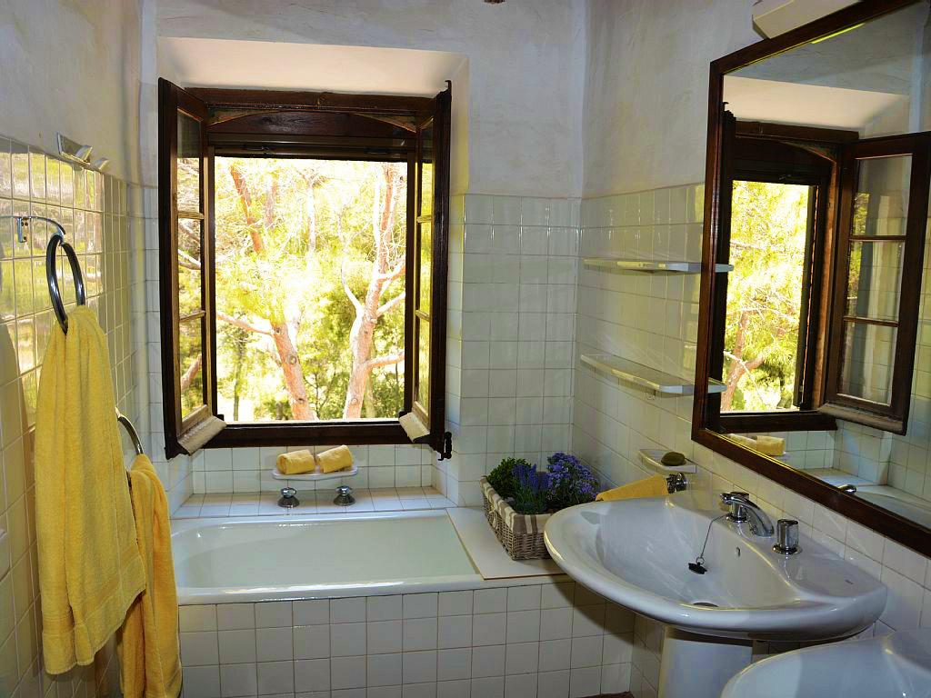 Location de Maison de vacances à Barcelone: salle de bain pour une personnes