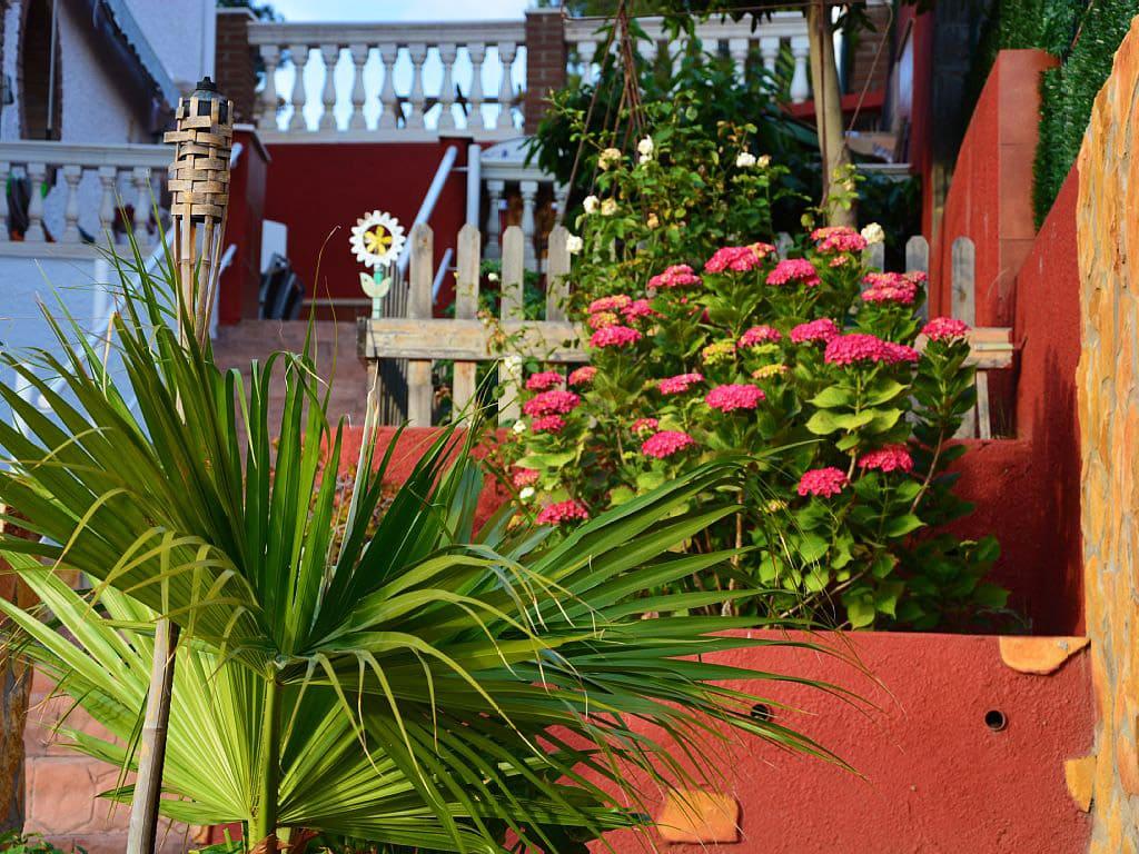 plantas del chalet para alquilar en verano en sitges