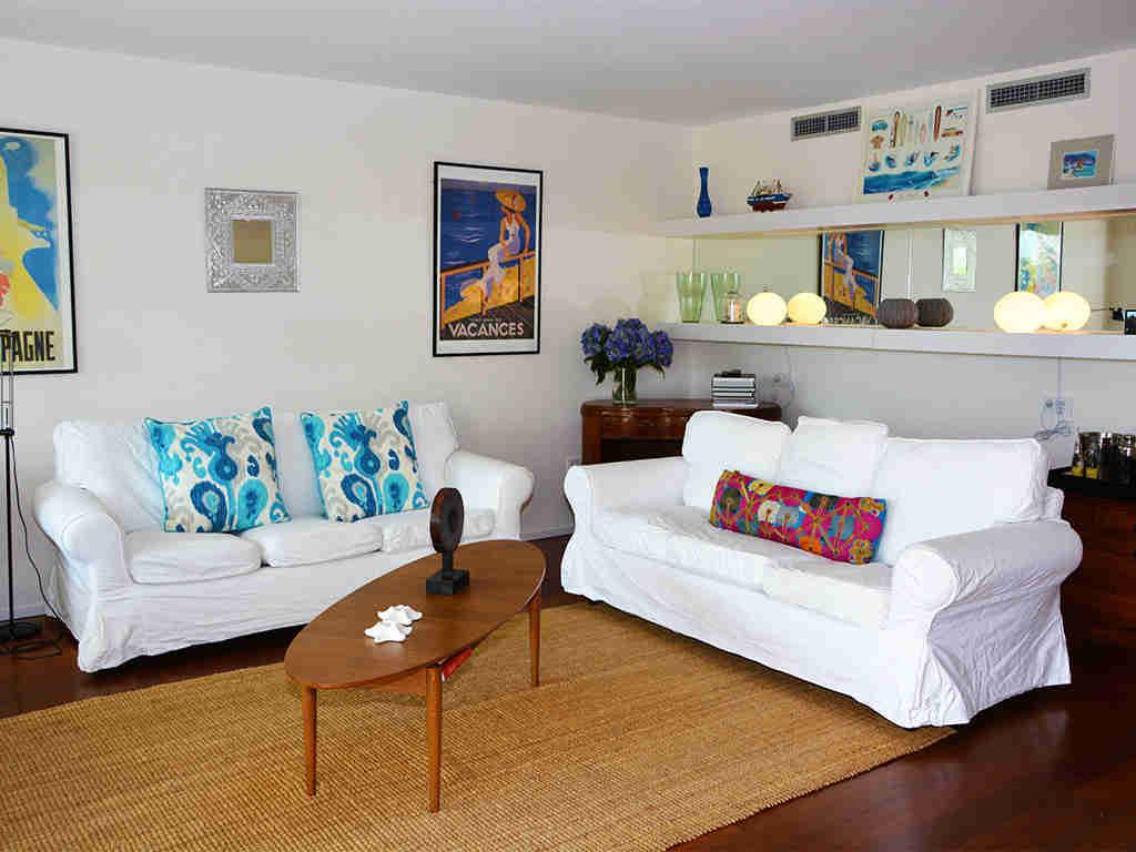 Location d'appartement à Sitges: salon