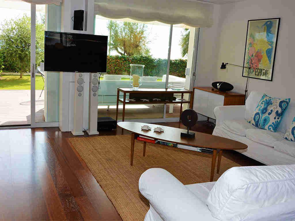 Location d'appartement à Sitges: lounge