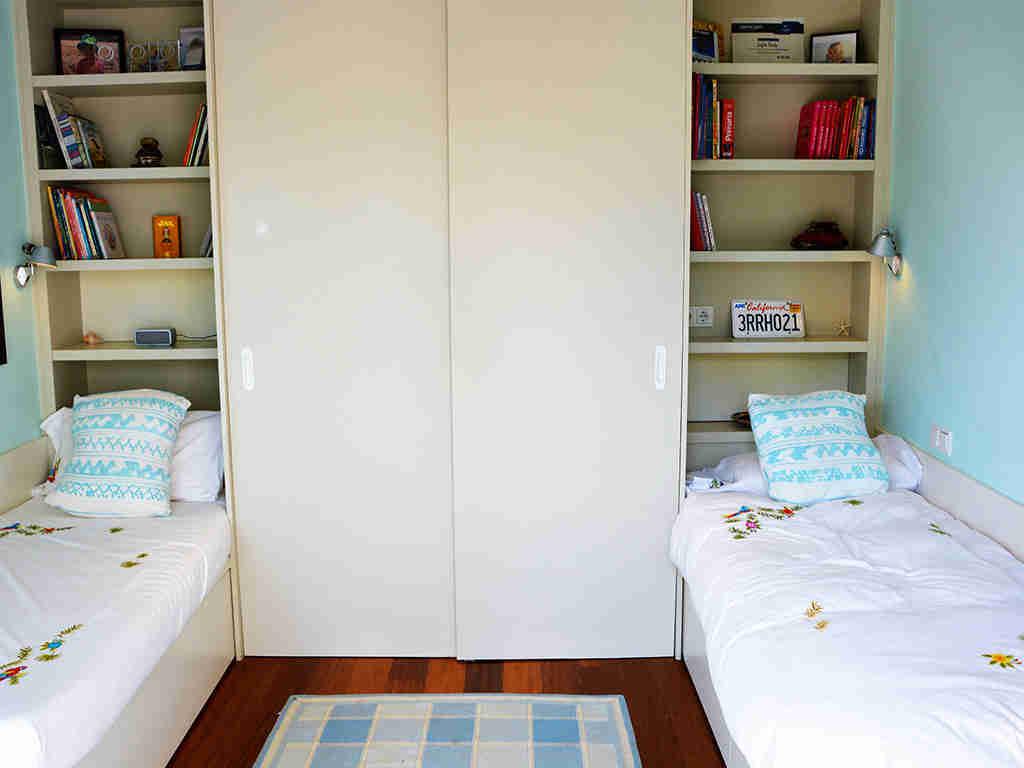 apartamentos vacacionales en sitges con habitación doble
