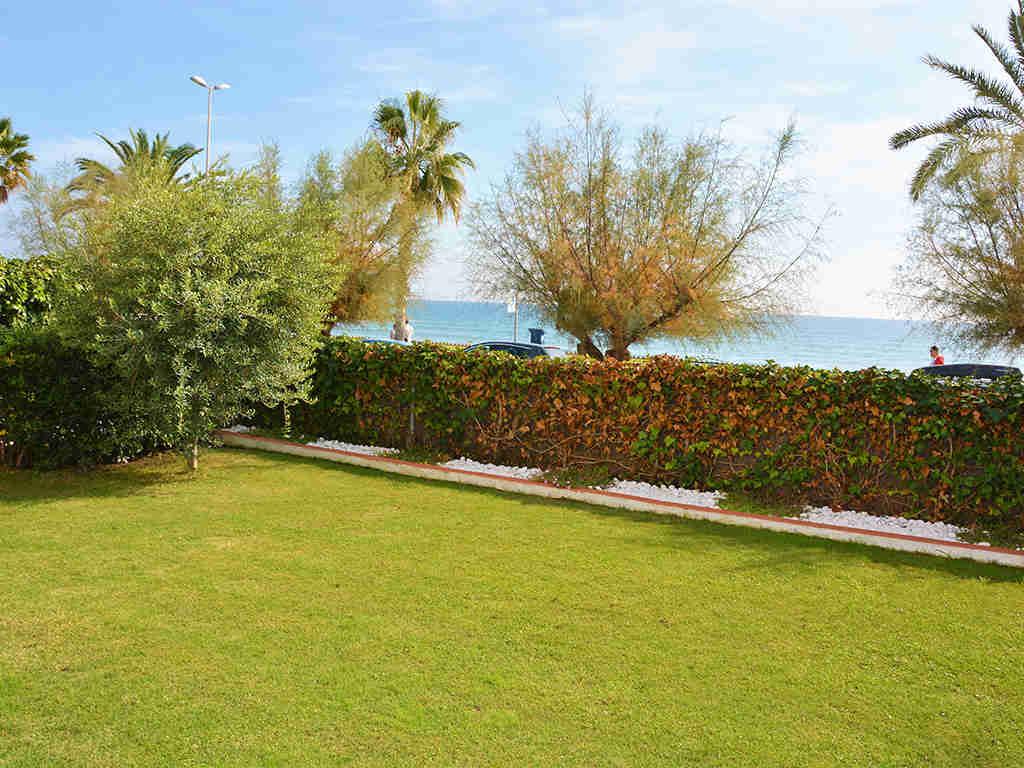 Location d'appartement à Sitges: vues sur la mer