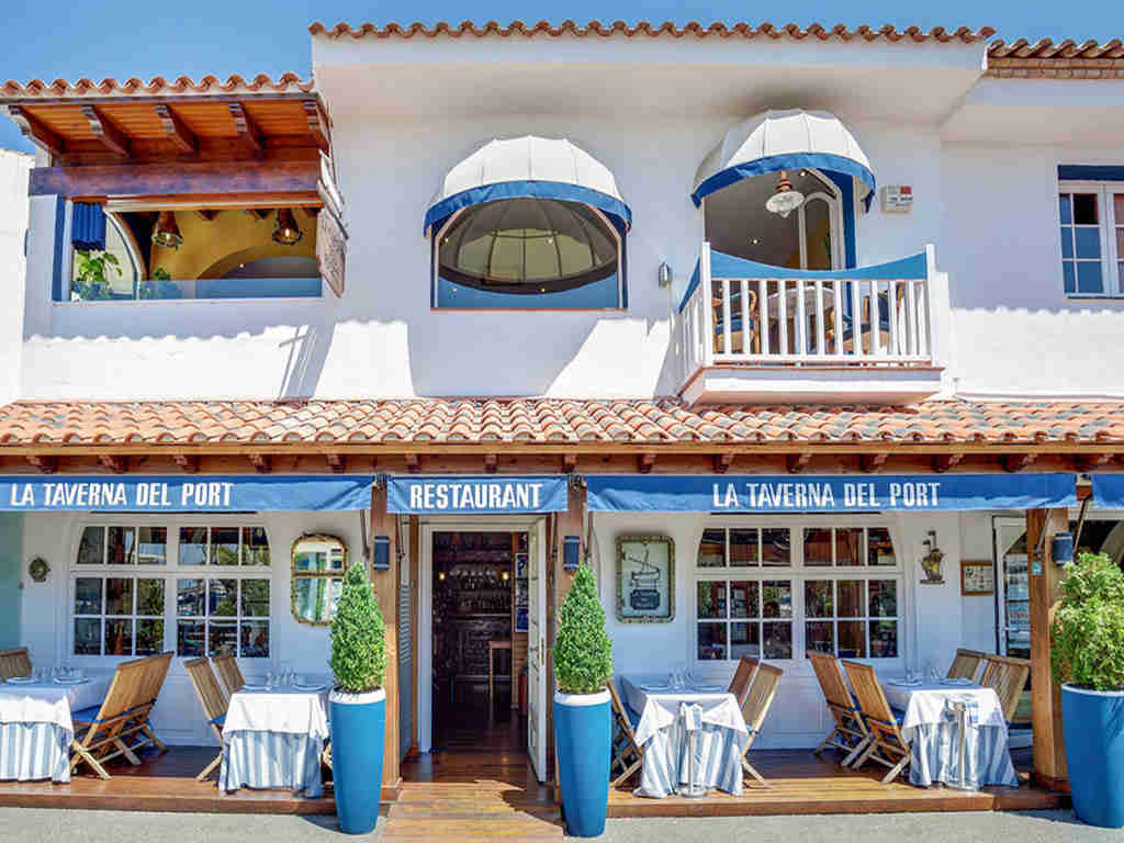 Restaurants in Sitges, La Taberna