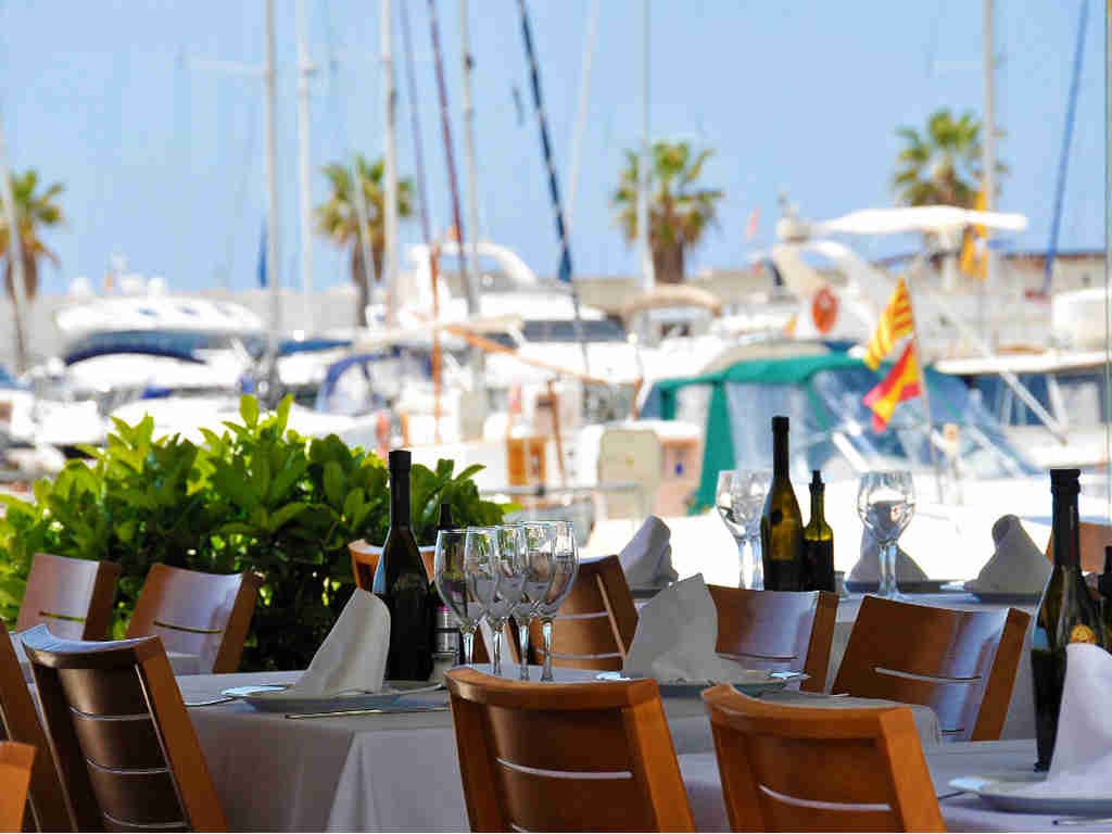 restaurants in sitges with beautiful terraces as can laury