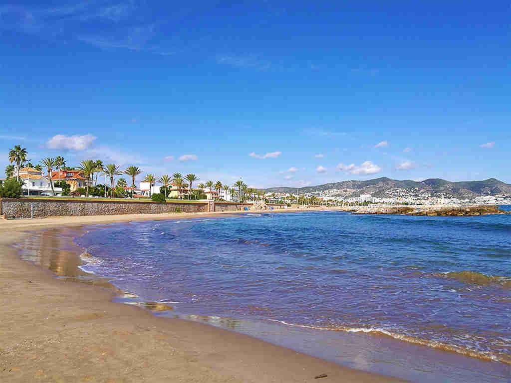 Promenade de Sitges: la plage