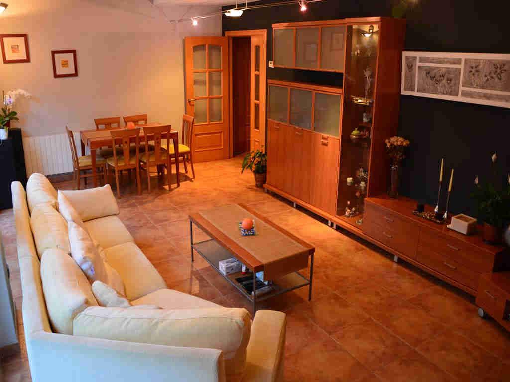 Villa en Sitges con salón.