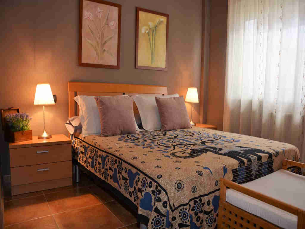 sitges villa with big bedroom.