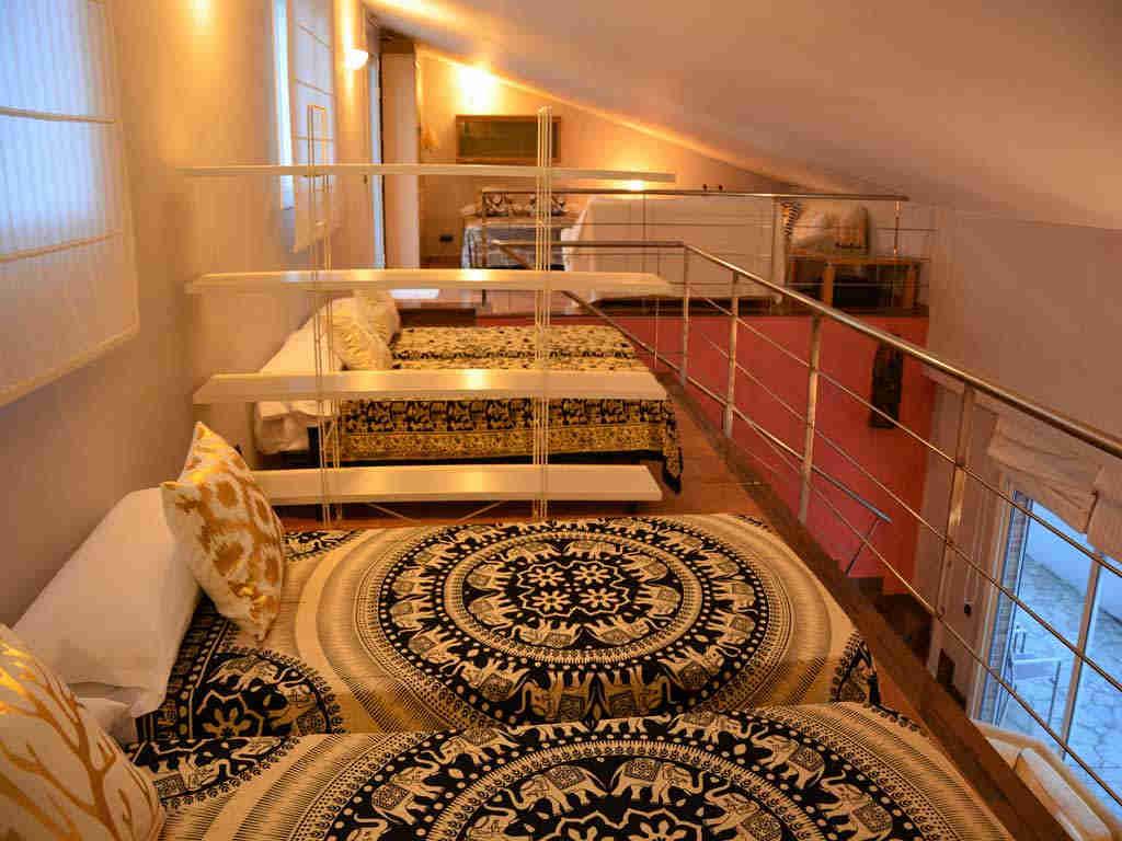 sitges villa with good illumination.