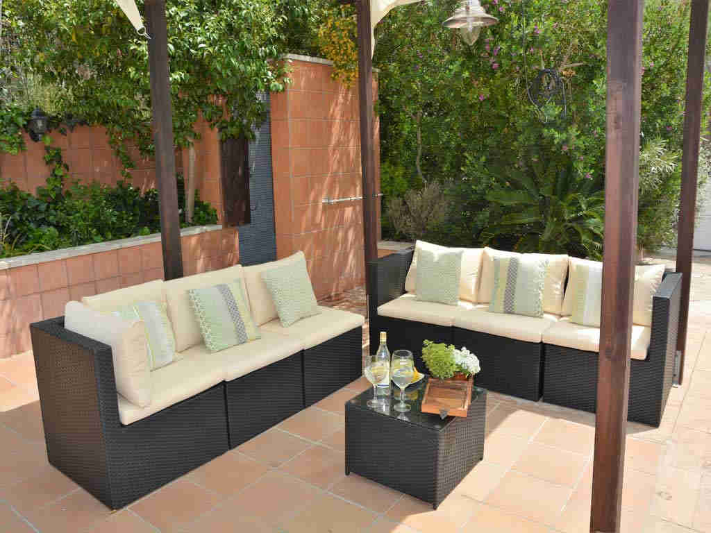 Villa en Sitges con comodísima zona chill-out.