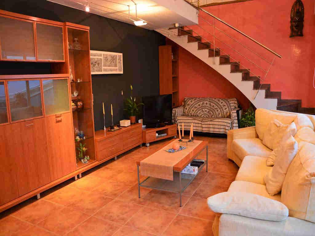 Villa en Sitges: salón.
