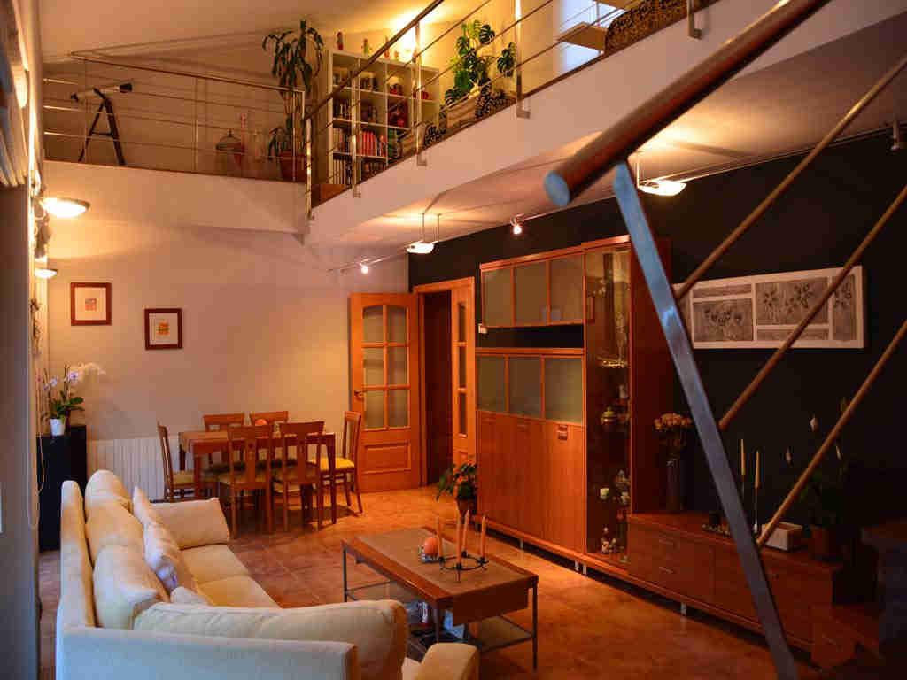 Villa en Sitges: amplio salón.
