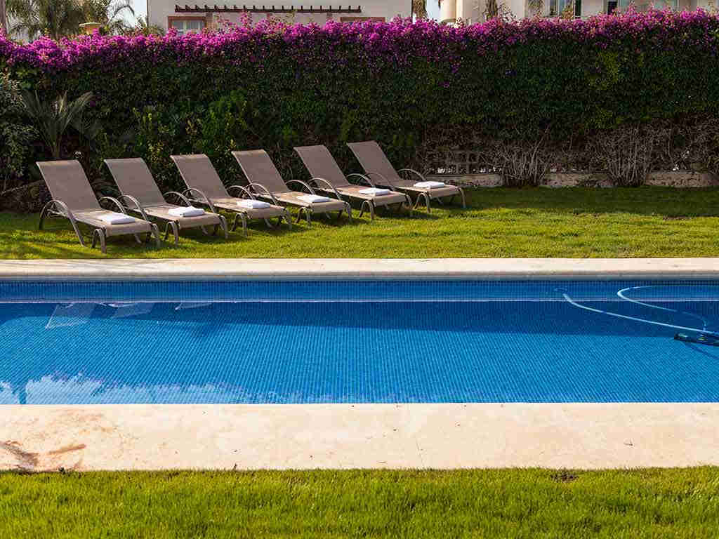 Sitges luxury villas with swimming pool