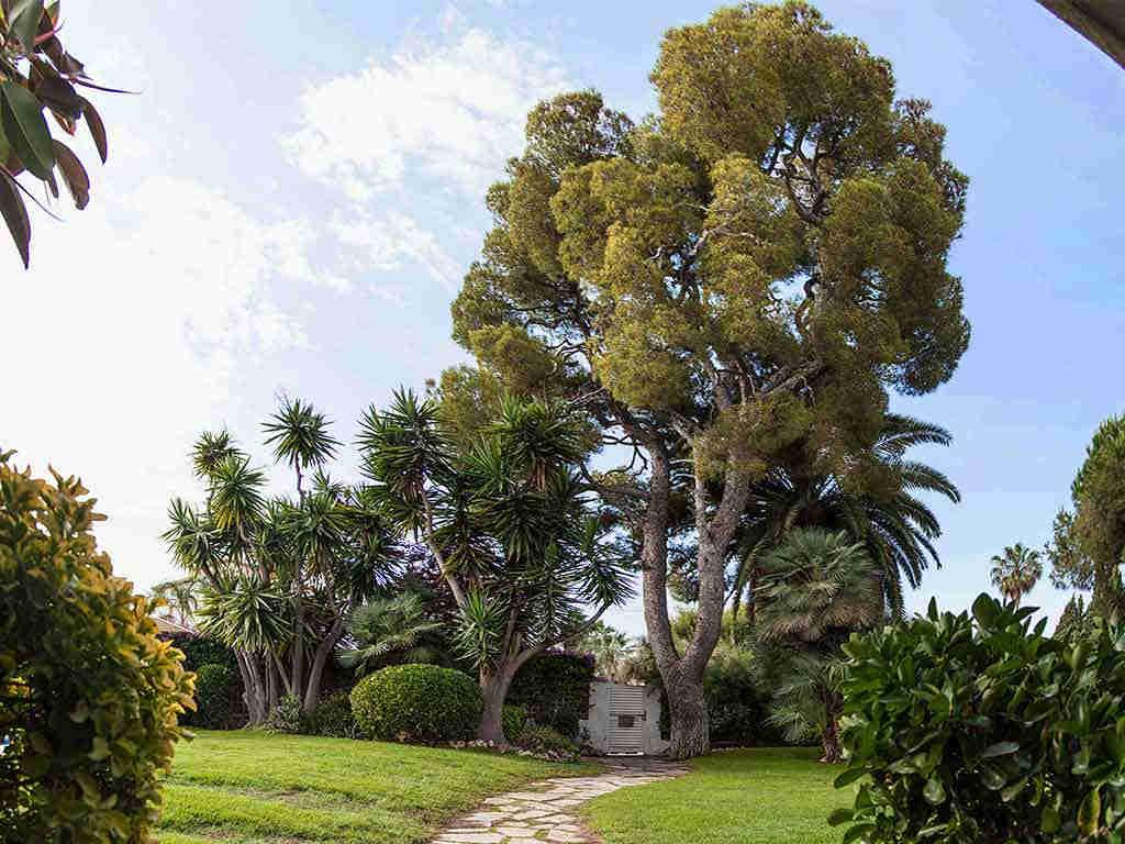 Villa vacacional en Sitges: primera entrada