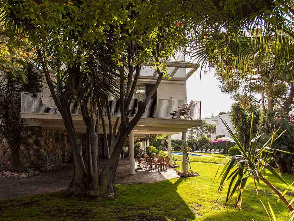 Villa vacacional en Sitges rodeada de naturaleza