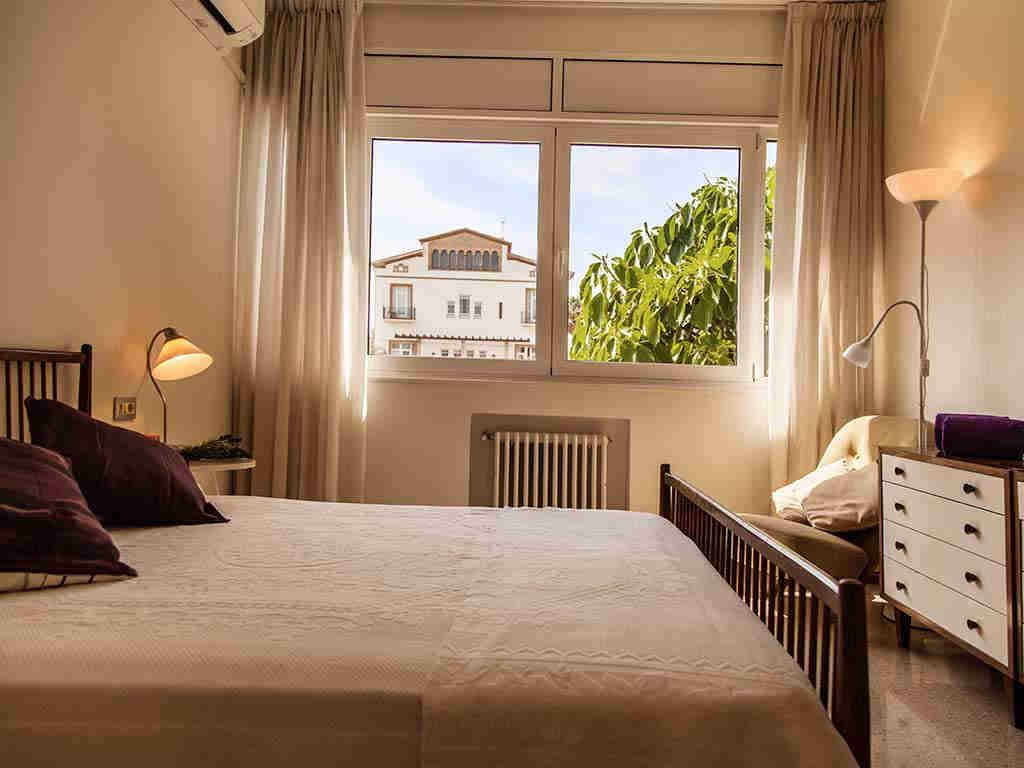 Villa vacacional en Sitges: vistas de la habitación 4