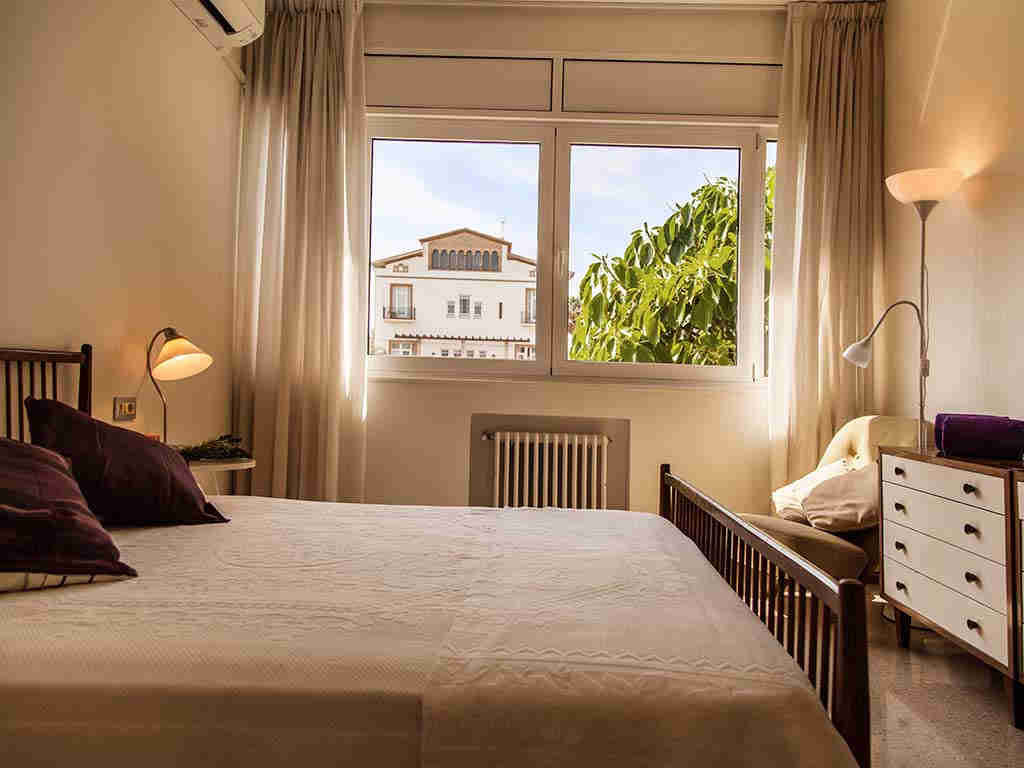Sitges luxury villas views of the bedroom 4